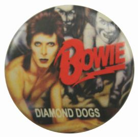 David Bowie - 'Diamond Dogs' Button Badge